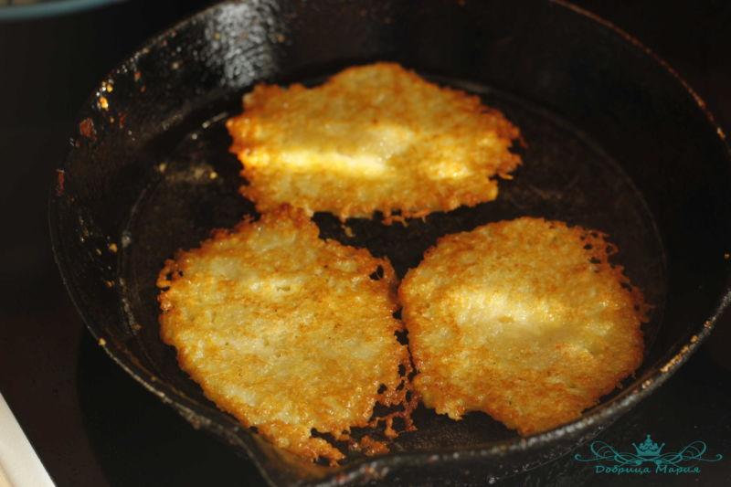 Драники картофельные7