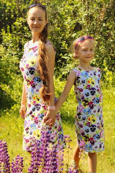 Платья фемили лук1