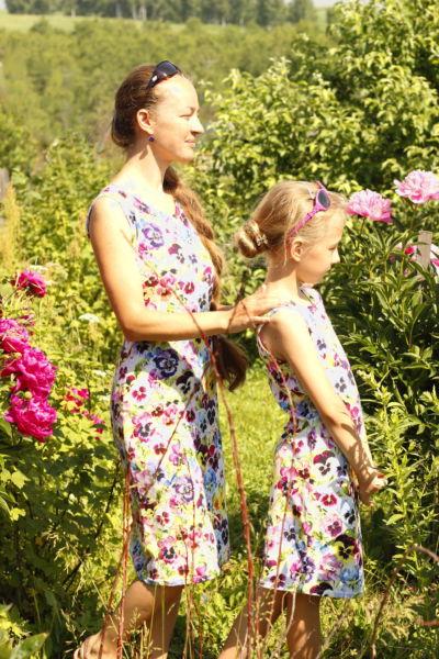 Платья фемили лук5