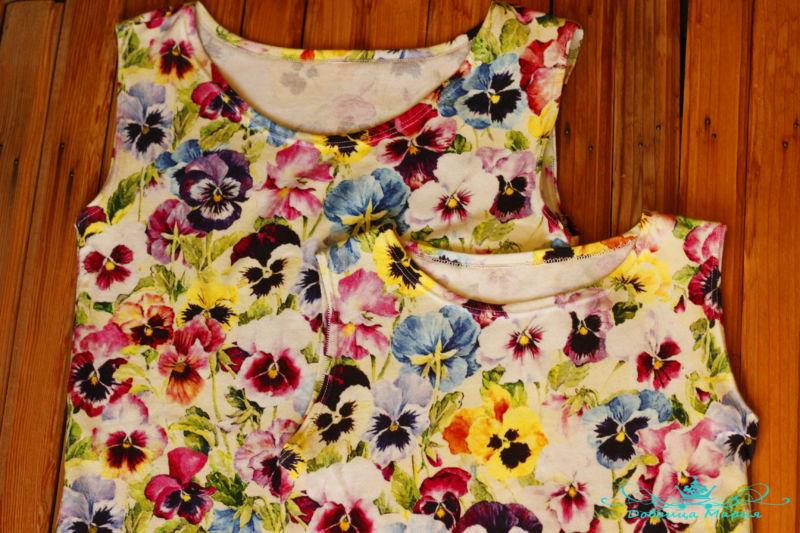 летние платья фемили лук20