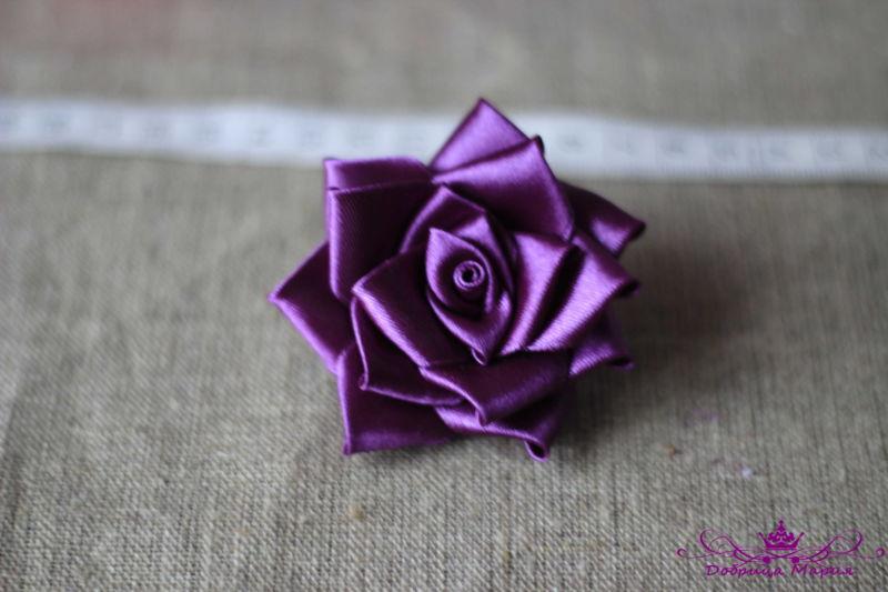 Розы из лент25