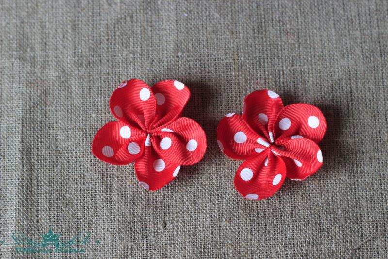 цветок из лент7