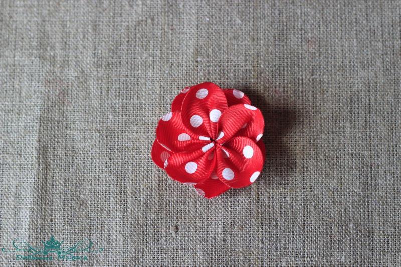 цветок из лент8