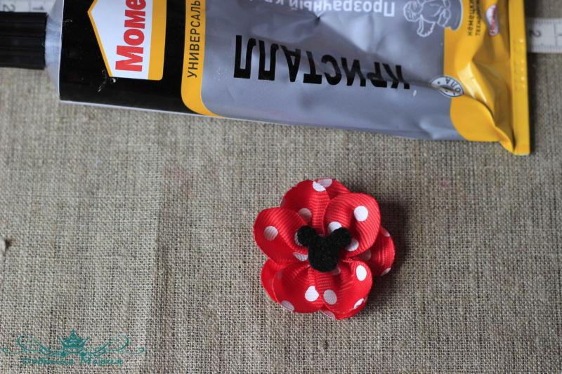 цветок из лент9