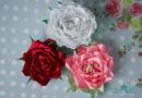 Розы из атласных лент своими руками 5 разных мастер классов. Как сделать розы из атласных лент пошаговая инструкция с фото и видео.